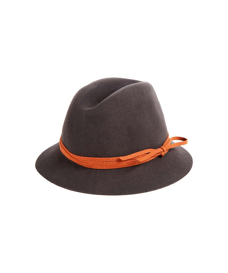 hat attack charcoal felt fedora hat s hats by hat