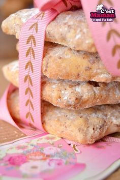 Biscuits Italiens à la noisettes – Biscuits de Noël …
