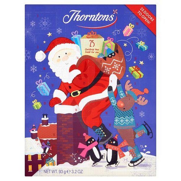 FREE Thorntons Advent Calendar - Gratisfaction UK