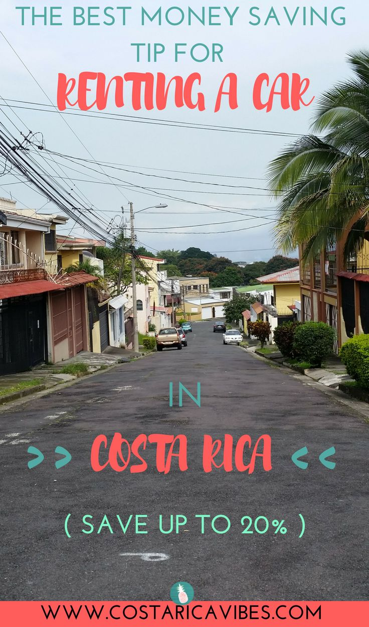 Renting a car in Costa Rica will allow you the flexibility to explore cool off the beaten path destinations without having to depend on tours. Find out how you can save up to 20%, get a second driver for free, and get a free cell phone to use. #costarica  #traveltips #budgettravel