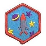 Space Exploration Badge: