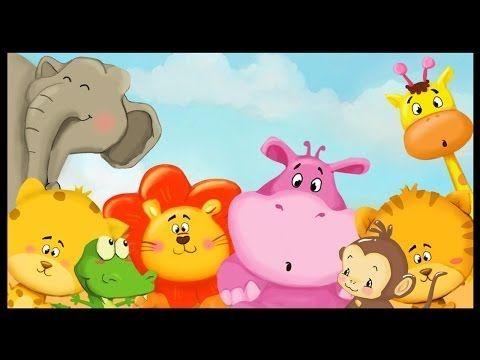 Apprendre les animaux de la savane - YouTube