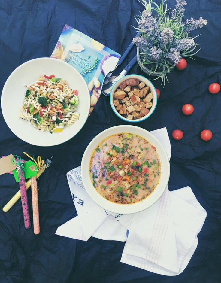 #supadelegume si #salatadepaste