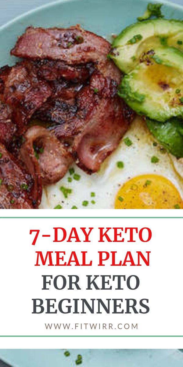 7-day keto meal plan for beginners.