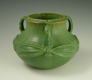 dragonfly Ephraim Faience Pottery