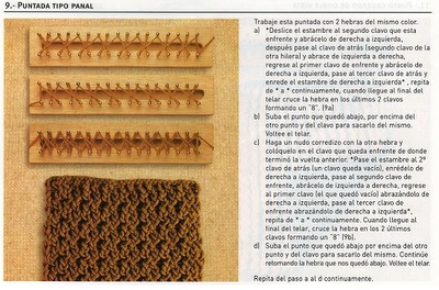 La libreta de Lanezi: Puntadas en telar azteca