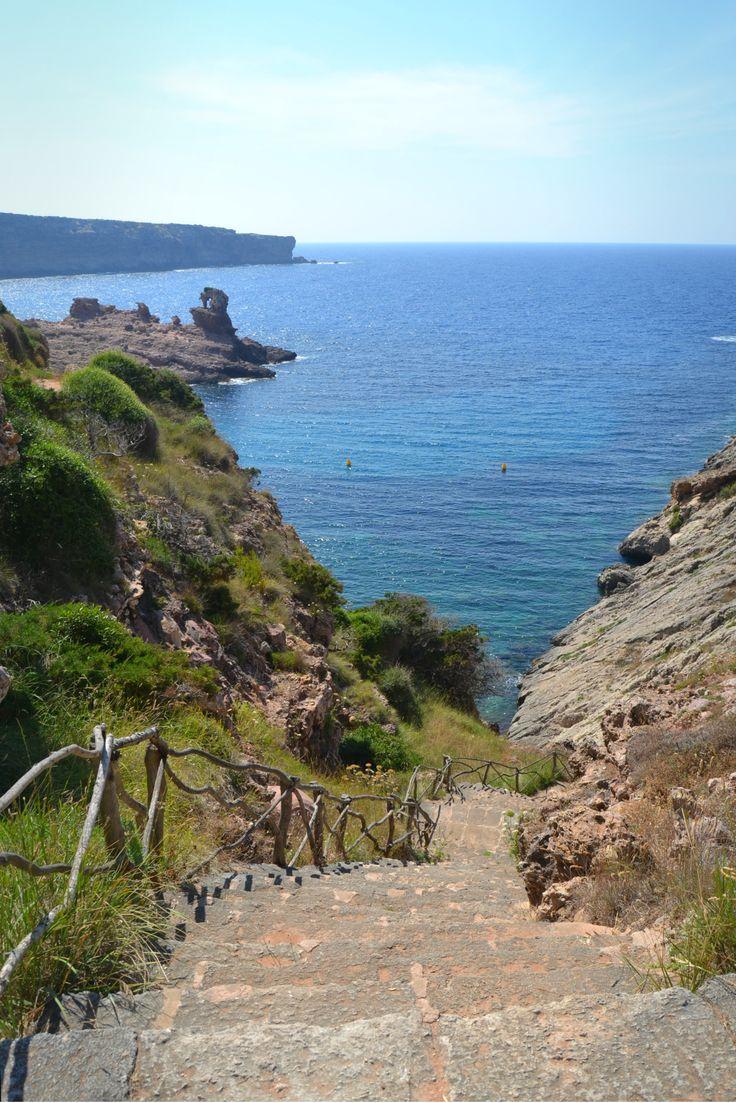 Menorca, Cala morell.