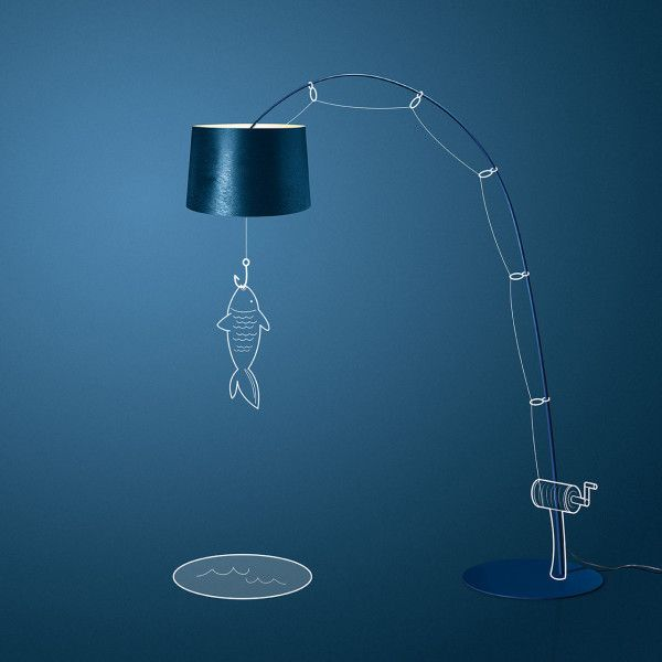 Luciano Cina Illustrates Foscarini's Light Designs