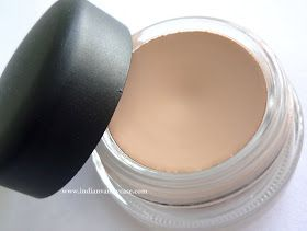 MAC Painterly Paint Pot. Works miracles! I use it as a lip and eye primer, or even nude to hide red eyelids.