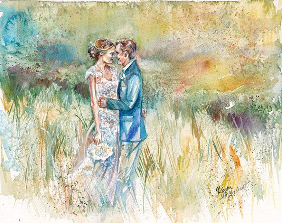 Wedding Gift Paintings: 56 Best Wedding Gifts Images On Pinterest