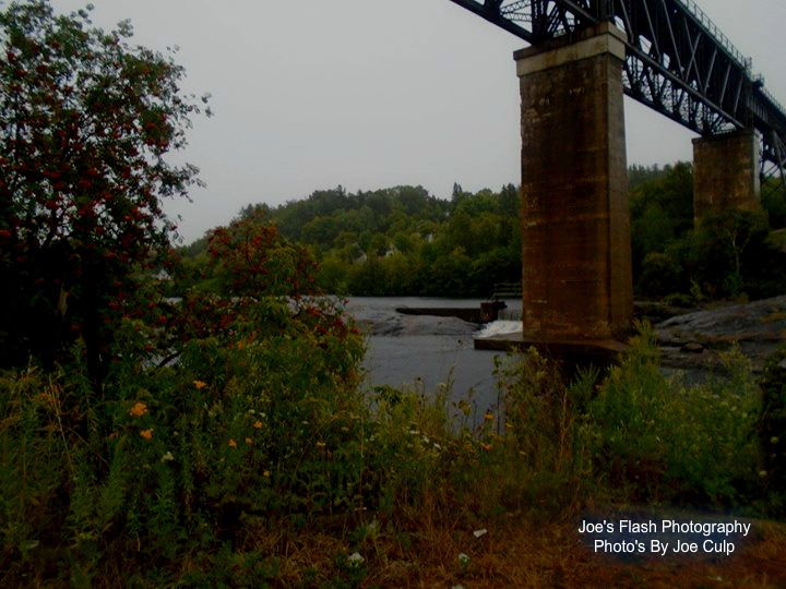 The Mouth of the Seguin River Parry sound Ontario