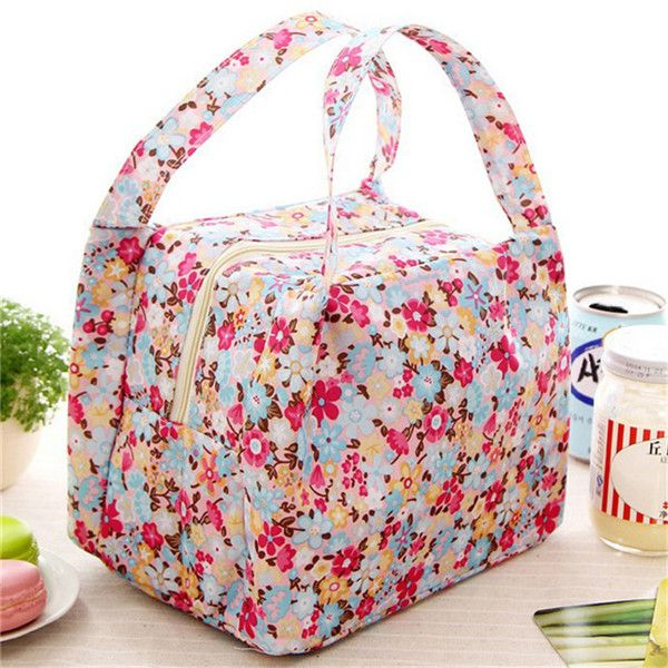 $2.13// Insulated Flower lunch bag// Delivery: 2-4 weeks