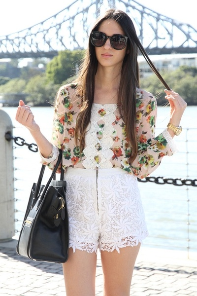 Floral: Fashion Shorts, Dreams Closet, Clothing, Real Outfits, Beautiful, Summer Outfits, Outfits Worn, Floral, Style Fashion