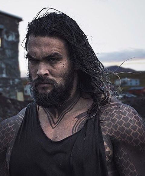 OMG! Holy Lord... oh dear Heaven... new pic of #aquaman ... #justiceleague #jasonmomoa #prideofgypsies PIC SOURCE: Argus Website