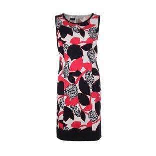 Gerry Weber Black/Pink Pattern Dress