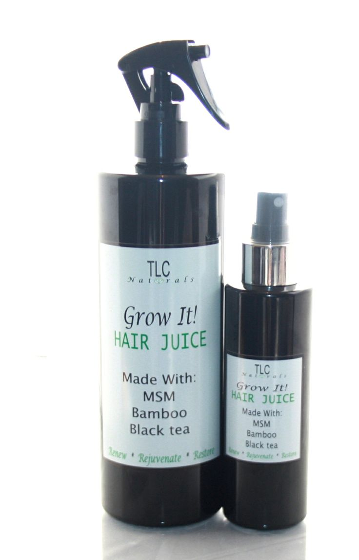 TLC Naturals Grow It hair growth juice.......great for shedding, breakage, thinning hair, chemo hair loss, post partum shedding, fine strands and increasing hair growth and volume.  Available in Full and Mini sizes.   #naturalhair  #longhair