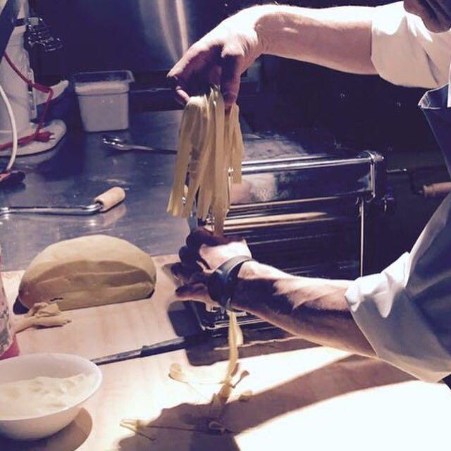 home-made pasta #stelvio #toronto #queenstreetwest #goodfood #eating #foodgasm #foodporn #foodie #dinner #pasta #valtellina #foodspotting