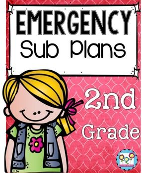 Sub Plans; Emergency Sub Plans, Substitute lesson plansThis emergency sub plan kit has everything you need to ensure your school day runs smoothly while you're gone. Planning for substitutes can be harder than just coming into work sick. However, with this set, you will have no-prep, print and go, reading, writing, math, science, and art activities that make sure your kids are still learning while you get the rest you need.