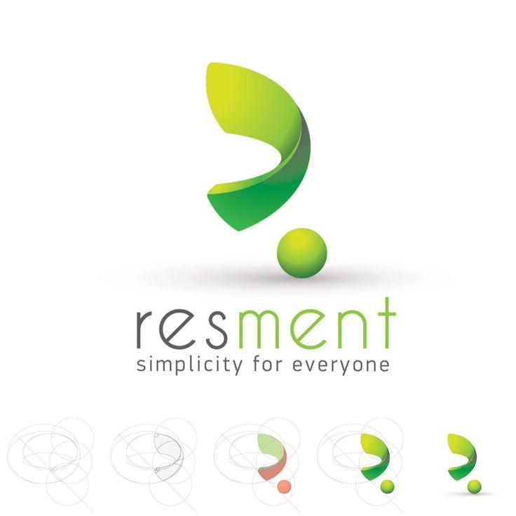 """Один из вариантов дизайна логотипа для немецкой компании """"Resment"""",расшифровывается как """"Resource Management"""" Вид деятельности: Программное обеспечение в сфере Человеческие Ресурсы (Human Resources)  www.behance.net/tsaritsyndesign www.instagram.com/tsaritsyndesign www.facebook.com/EugeneTsaritsynDesign"""