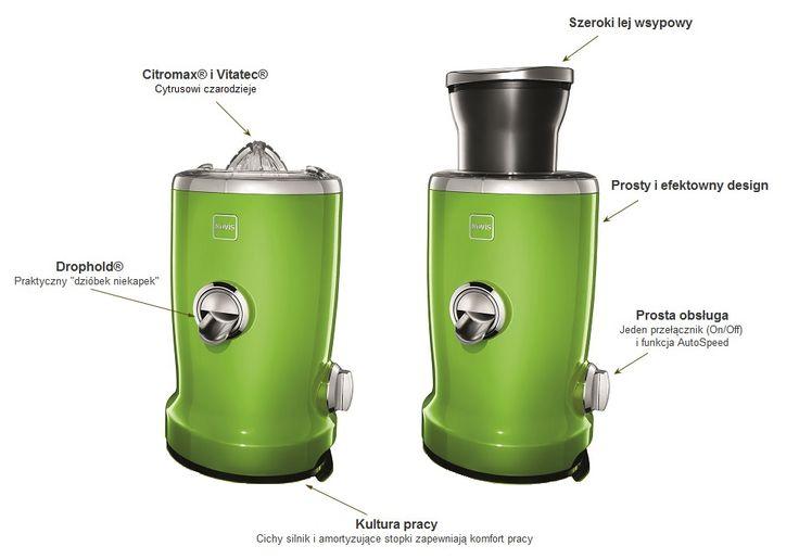 Vita Juicer zielony