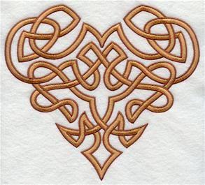 Knotwork heart