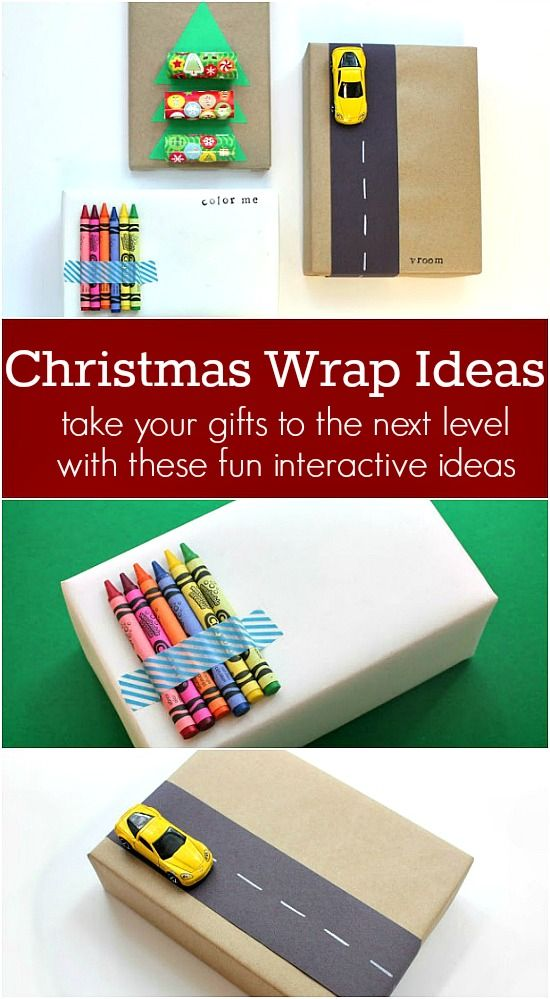Take your gifts to the next level with these fun Christmas Gift Wrap Ideas! Pin to your Christmas Board!