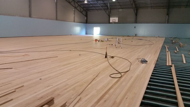 Sprung Wood Gym Floor