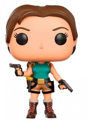 Cabezón Lara Croft 9 cm. Tomb Raider. Línea POP! Games. Funko Foto 1