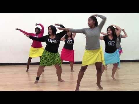HOT HULA fitness Dance Workout - Week 1 - Part 1 - YouTube