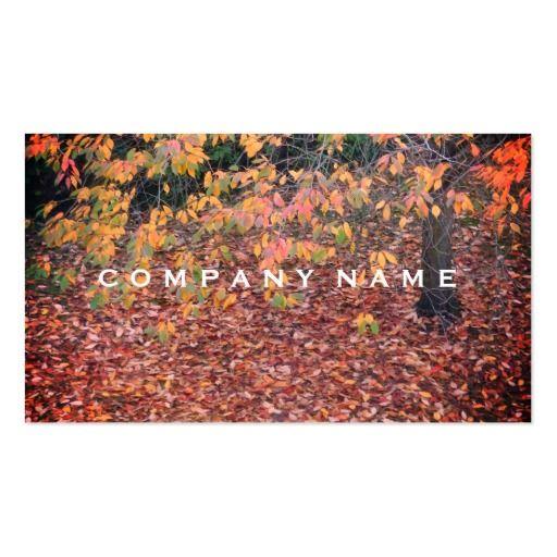 Rustic Tree Portrait Business Card