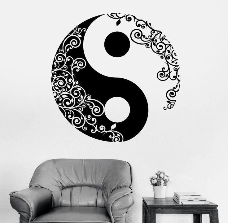 17 best ideas about yin yang art on pinterest wolf for Decoration murale yin yang