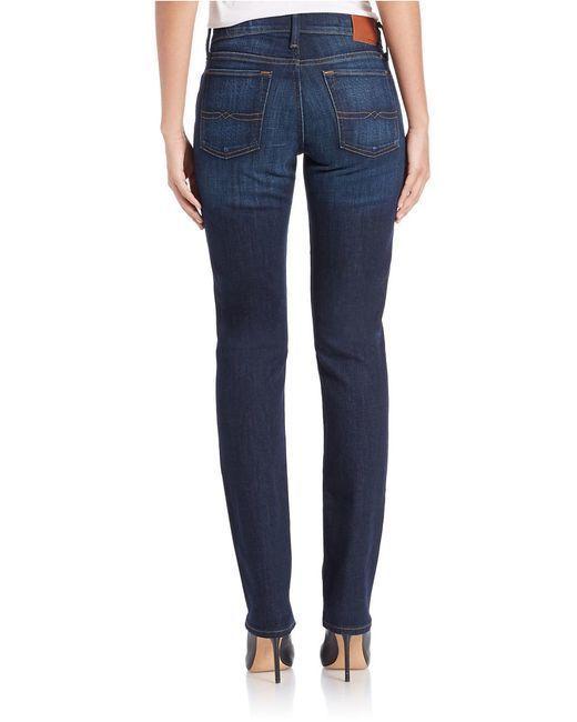 Women's LUCKY BRAND SWEET STRAIGHT LEG Low Stretch Jeans Sz 2 / 26 W 29 x L 32 #LuckyBrand #StraightLeg