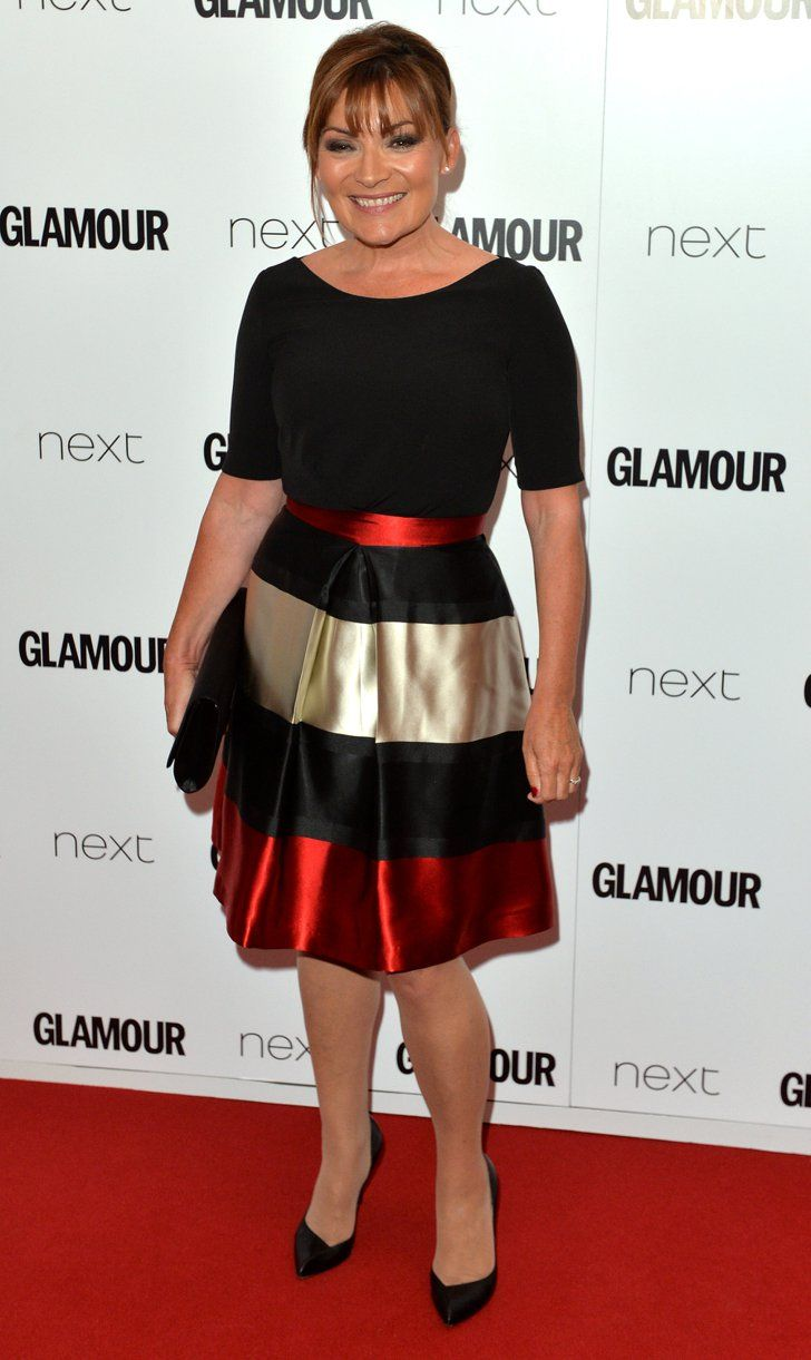 Pin for Later: See All the Stars on the Glamour Women of the Year Red Carpet! Lorraine Kelly