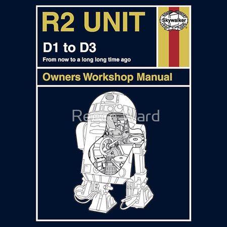 Star Wars/Haynes Manual - R2 Unit Maintenance... Wait, is that a Dalek in there...!?! O.o