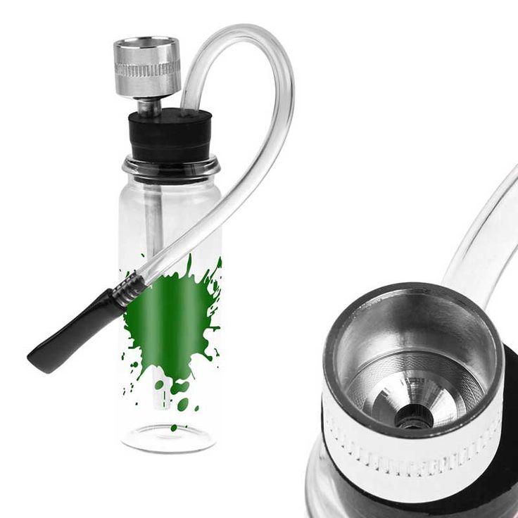 Nuovo Mini Filtro Acqua Pipe Shisha Narghilè Tubo Supporto Per Il Tabacco Accessori