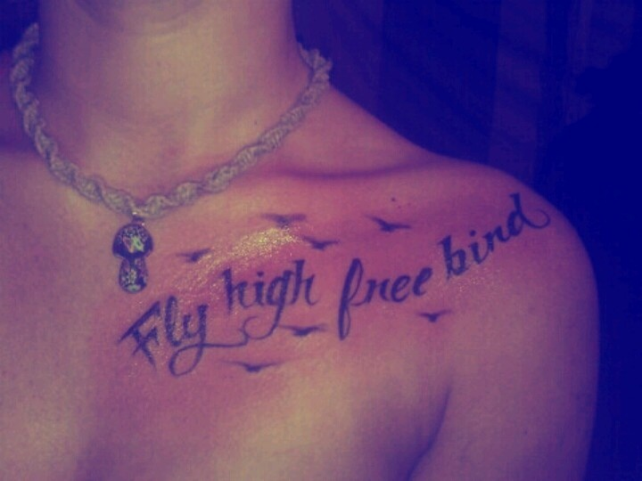 fly high free bird tattoo lynardskynard perfect for my