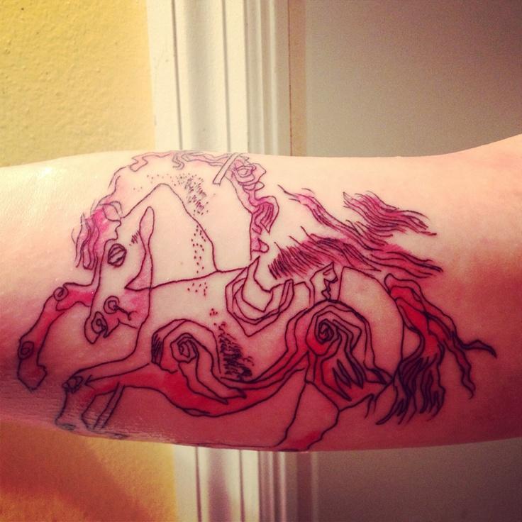 My new Catcher in the Rye tattoo