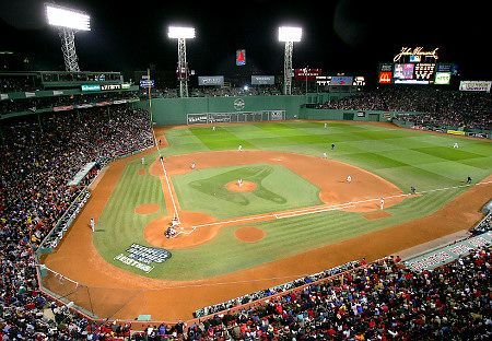 Fenway Park turned 100 this year. This is by far the best stadium in Major League Baseball (and that's coming from a hard core Yankees fan).