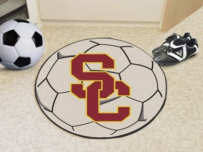 Soccer Ball Mat - University of Southern California Trojans