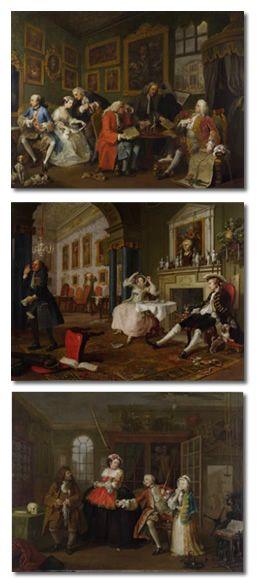 William Hogarth - Marriage A-la-Mode - 1