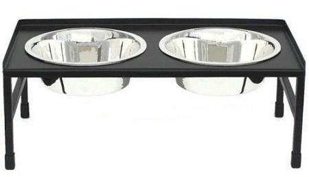 Tray Top Elevated Dog Bowl - Medium