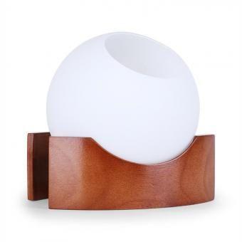 LED Luftbefeuchter Farbwechsel Aroma-Therapie dunkelbraun
