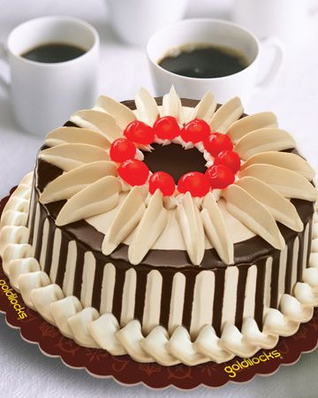 Spend your day with Goldilocks cake.    http://www.goldilocks.com.ph/bakeshop/cakes/