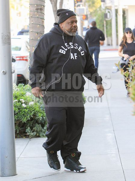 Cedric the Entertainer Sighted at Lunch in Beverly Hills on January 11 2018