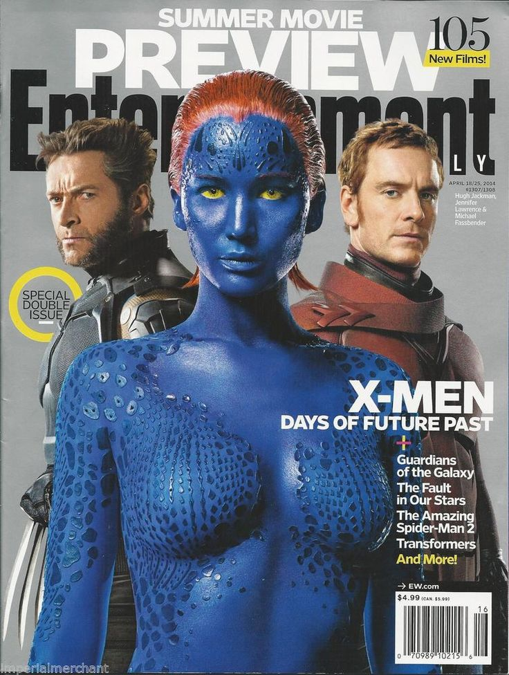 Entertainment Weekly magazine featuring X-Men