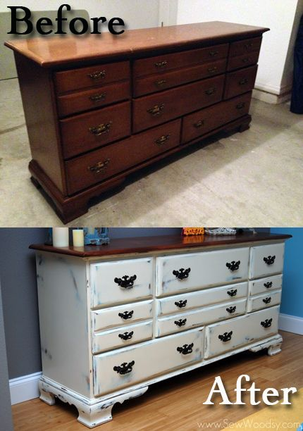 Dresser Furniture Paint