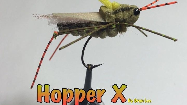 My Favourite Hopper X Pattern In Quick Clips Hope This Will Bring You Some Nice Fish Too Flytyingjunkie Flytyingporn Fly Tying Hopper My Favorite Things