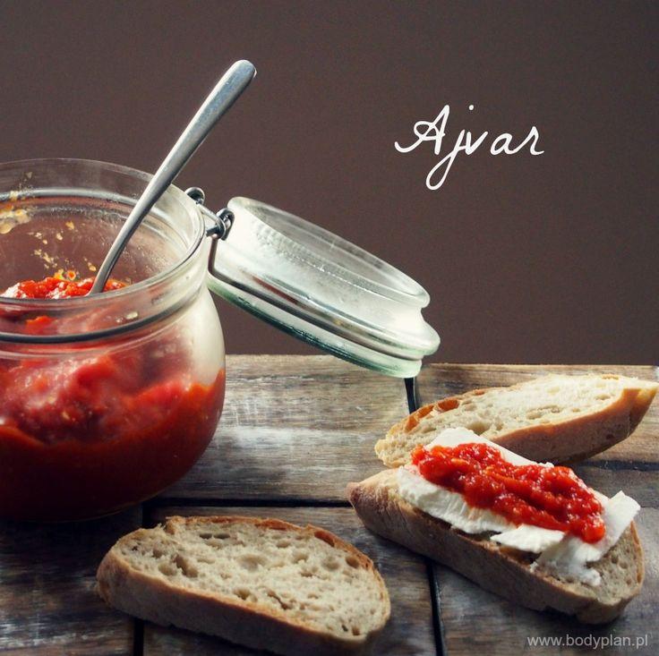 Ajvar – bałkańska pasta z papryki i bakłażana