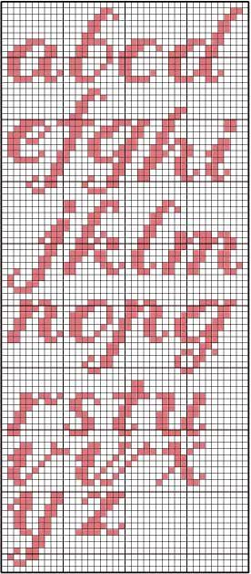 ponto cruz monograma - Buscar con Google