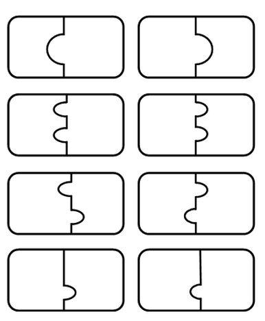 Puzzle puste